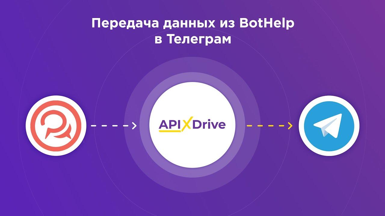 Как настроить выгрузку данных из BotHelp в виде уведомлений в Telegram?