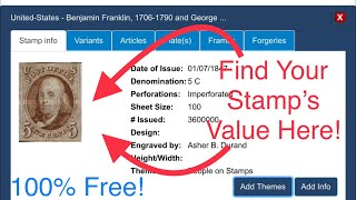 Great Website to Find Your Stamp's True Value!