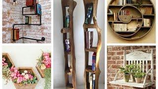 Creative Wall Shelves Ideas – DIY Home Decor