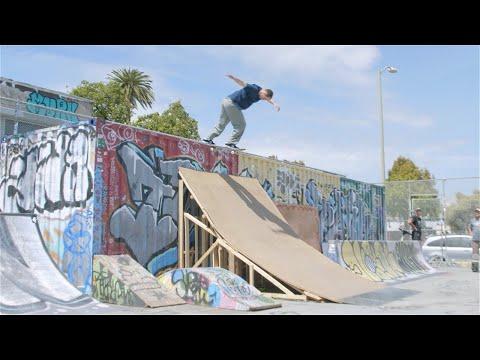 Kevin Braun, Knibbs, Trav   James Skate Town Park! Screaming Vlog 52 | Santa Cruz Skateboards