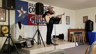 Tommy Horton -  Son of Johnny Horton - Sings Father's songs at the Heart of Texas Museum Brady TX