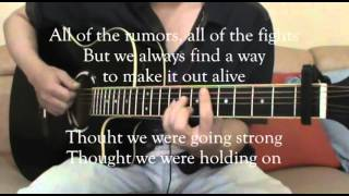One Direction - History (Acoustic Guitar + Lyrics Karaoke)