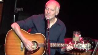 PETER FRAMPTON 'Take Me Back' Acoustic 10/14/15 BergenPAC Englewood, NJ