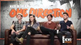 Найл Хоран, One Direction interview for E!News Latino