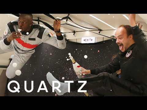 Drinking Champagne in Space is a Challenge