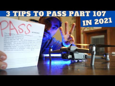3 KEY TIPS to Pass your Part 107 Drone Exam in 2021 - YouTube