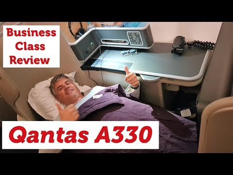 Qantas A330 Business Class – Welcome Home!