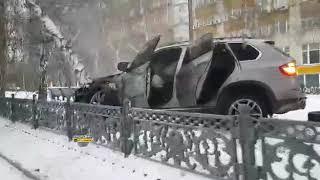 Пьяный водитель водитель БМВ устроил ДТП с пострадавшим в центре Новосибирска