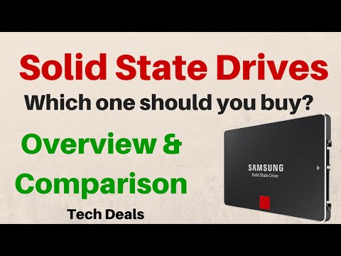 SSD Overview – Which one should you buy? – Samsung / SanDisk / Crucial / ADATA / PNY