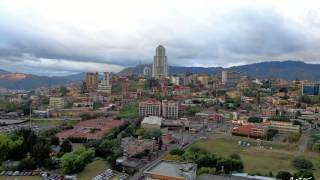preview picture of video 'Honduras Capital City - View from a Skyscraper'
