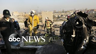 Arrests Made In Iran After Ukrainian Plane Shot Down L ABC News