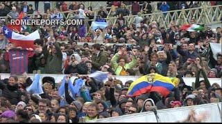 Pápež pozdravil študentov na Fóre UNIV