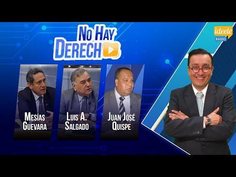 Mesías Guevara, Luis Alberto Salgado, y Juan José Quispe conversan con Glatzer Tuesta - [10-12-2019]