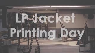 Joe Jackson - Summer in the City - LP Jacket Printing Day