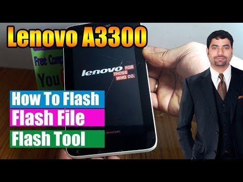 Lenovo Tablet A7-50 Hang On logo Flashing with sp flash tool