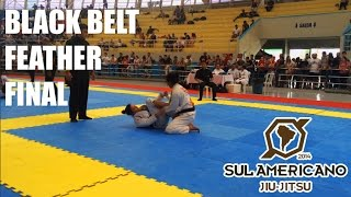 South American 2014 - Black belt adult - Feather weight Final