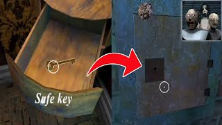 How To Find & Use The Safe Key | Granny 3