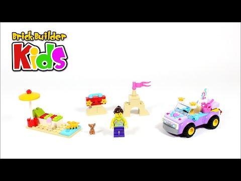 Vidéo LEGO Juniors 10677 : L'excursion à la plage