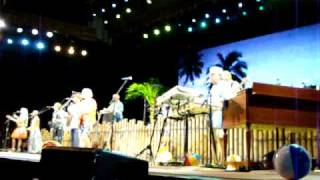 Rhumba Man performed by Jimmy Buffett in Jacksonville, Florida during the Summerzcool tour