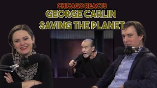 Chicagoans React to George Carlin Saving the Planet
