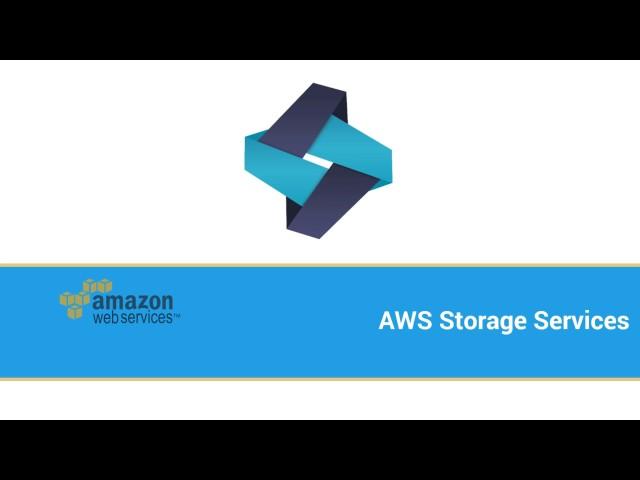 Learn AWS #1: Storage & CDN - Amazon S3 EBS AWS CloudFront