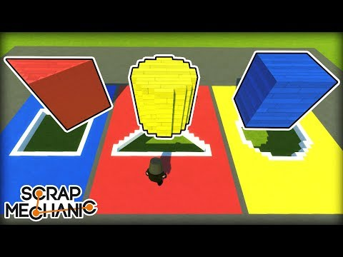 Only The BIGGEST of BRAINS Can Complete This Challenge! (Scrap Mechanic Multiplayer Monday)