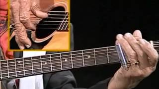 How to play Piedmont Blues with Etta Baker - Going Down the Road Feeling Bad (Crossnote Lesson)
