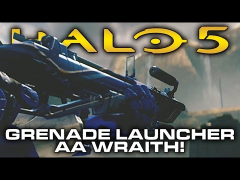 Halo 5 Update TEASER! Reach Grenade Launcher and AA Wraith