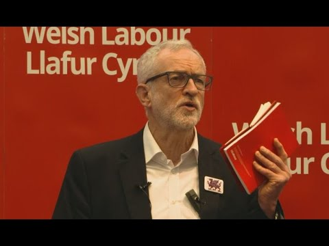 'Universal credit is cruel and brutal' Corbyn delivers speech in Wales | General Election 2019