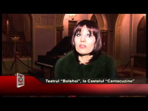 "Teatrul ""Bolshoi"", la Castelul ""Cantacuzino"""