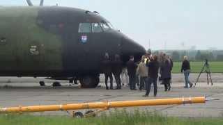 preview picture of video 'Transall C-160 - Pressetermin in Altenburg/Nobitz am 07. Oktober 2014'