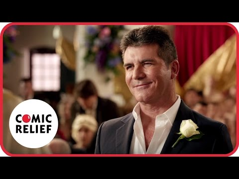 Simon Cowell's Wedding | Comic Relief (видео)