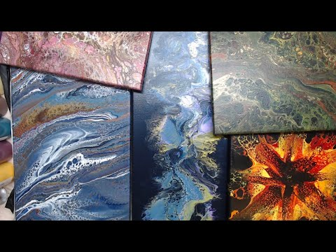 Monday Night Live!  Acrylic Pouring, Q&A and New Fall Line Paint Colors!