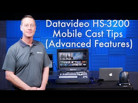 Tips for Live Event Production with the Datavideo 3200-Series