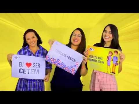 CETEM - Recado Professoras Ana, Mariana e Aline