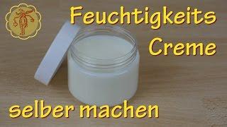 Feuchtigkeitscreme selber machen - für normale und trockene Haut