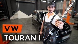 How To Replace A Front Shock Strut On VW TOURAN 1 (1T3) [TUTORIAL AUTODOC]