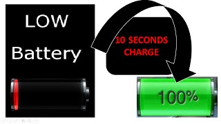 Viral : Charge your phone in 10 Seconds