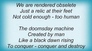 Arch Enemy - Mechanic God Creation Lyrics