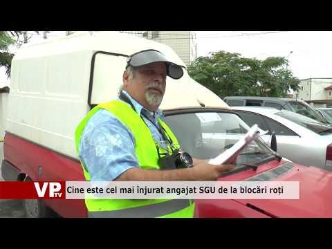 Cine este cel mai înjurat angajat SGU de la blocări roți
