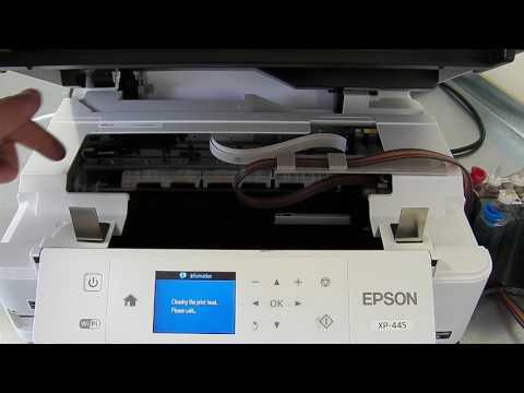 Ciss continuous ink system fits Epson XP-445 XP445
