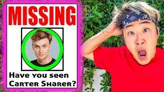 Carter Sharer is Missing! (Gone Wrong)