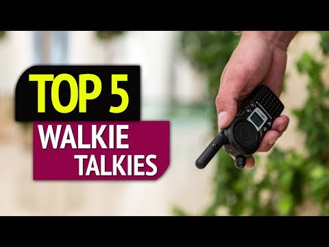 TOP 5: Best Walkie Talkies 2018