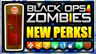 Black Ops 4 Zombies LEAKED PERKS! PHD-SLIDER, NO JUGG, NEW GOBBLEGUMS (Black Ops 4 Zombies Leaked)