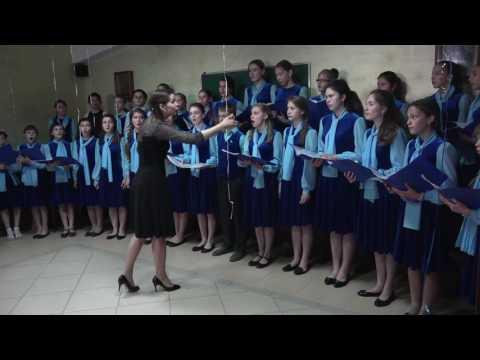 Открытый урок Детского хора духовной музыки