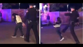 Massive Officer Pepper Sprays Boy, Kicks Him in the Back-Parents Demanding Charges