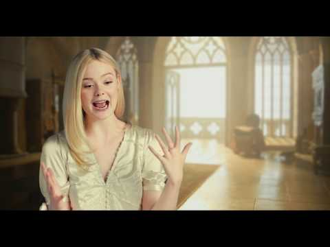 Elle Fanning MALEFICENT 2 Mistress of Evil Behind The Scenes Interview
