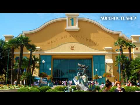 (Re-Up) Walt Disney Studios Park Daytime Entrance Loop