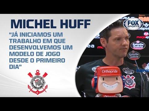 CORINTHIANS AO VIVO! Michel Huff, preparador físico do Timão, fala em entrevista coletiva
