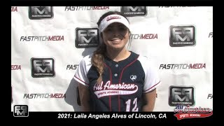2021 Jordan West Shortstop and Third Base Softball Skills Video